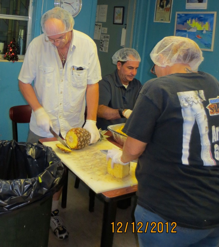 Volunteers working at Jubilee Soup Kitchen 04