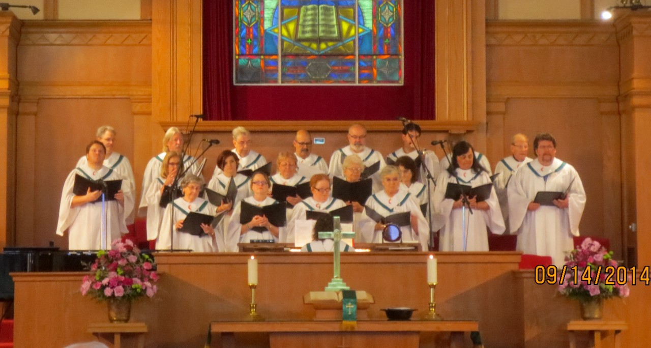 HHUMC Choir September 2014